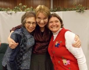 "Angela Dunston Johnson, Glenda Mathes, Susan R. Lawrence; aka as ""The Three Forever Amigos"""