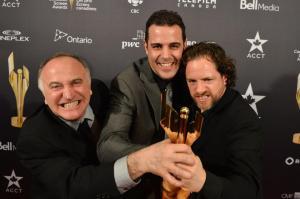 Aldo Columpsi (cameraman), Geoff Leo, and Trevor Aikman (editor)