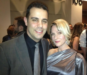 Geoff & Tanis Leo at the Canadian Screen Awards