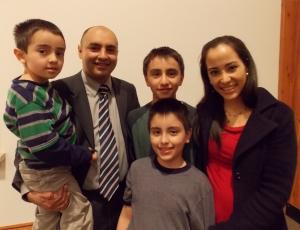 The Landázuri family