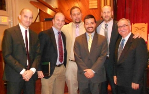 Deacon Alfredo Rogriguez, Dr. Carl Trueman, Elder Danny Bernard, Rev. Sam Perez, Rev. Bill Boekestein, and Rev. Paul Murphy
