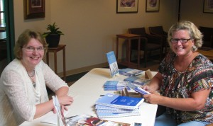 Glenda Mathes and Diane Smith at my September 9, 2013, book signing
