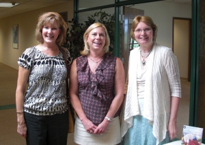 New friends Barb and Margo with me at my September 9 book signing