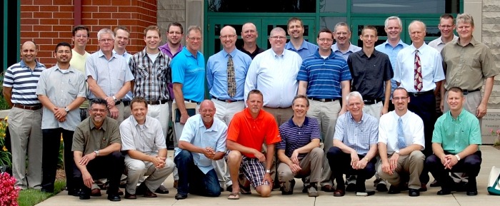 Alumni of Mid-America Reformed Seminary attending the conferences