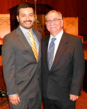 Pastors Sam Perez and Paul Murphy