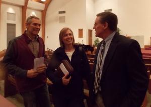 Bruce & Rochelle De Bruin chat with Rev. Steel