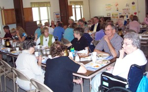 Fellowship at the United Reformed Church of Wellsburg, Iowa