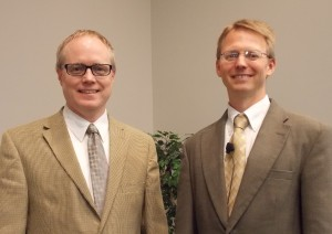 Rev. Nathan Brummel and Rev. Ken Anema