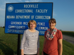 Grace Barnes and I spent five days ministering to women in an Indiana prison.