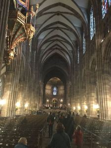 10-Strasbourg Cathedral interior
